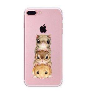 Новые силиконовые чехлы iPhone 7