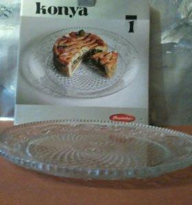 Блюдо д/торта, пирога и т.д. Konya