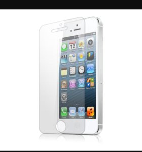 Защитное бронь стекло на iphone5/5s/5c