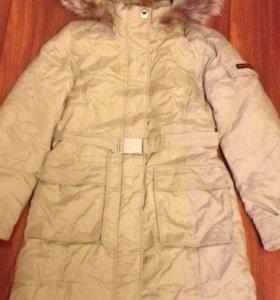 Пуховое пальто Qu
