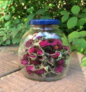 Розовые бутоны (сухоцветы)