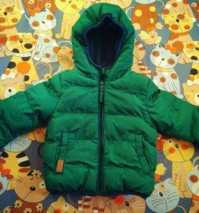 Детская куртка б/у(74 рр.)