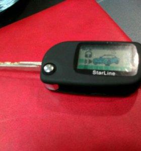 Выкидной ключ- корпус для сигнализации