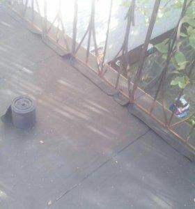 Гидроизоляция террас, балконов, плоских кровель