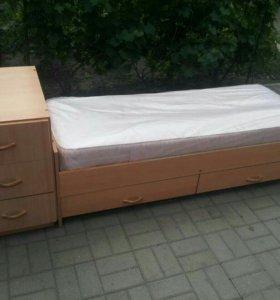 Детская кровать- трансформер.