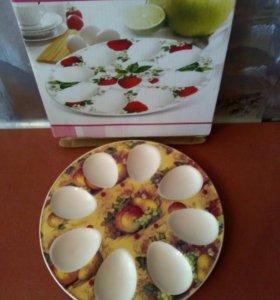 Тарелка д/фарш.яиц Elan gallery