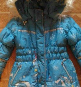 Пальто зимнее размер 30