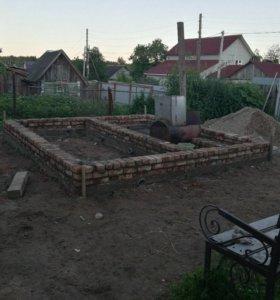 Строительство(заборы,фундаменты,кладка)
