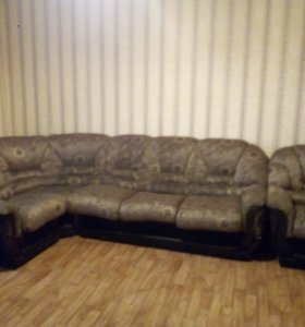 Гостевой диван с креслом б/у