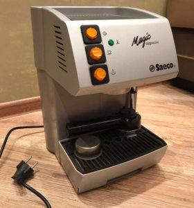 Кофемашина с капучинатором Saeco Magic Cappuccino