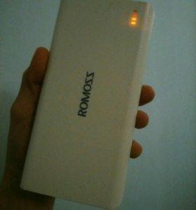 Powerbank 20 000 mAh Romoss Sense 6 в коробке