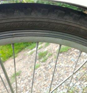 Складной велосипед, 6 скоростей