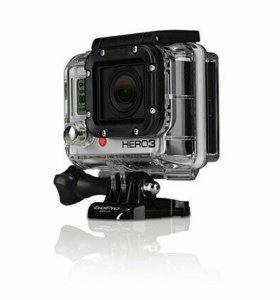 аквабокс для GoPro hero 3/3+/4 новый