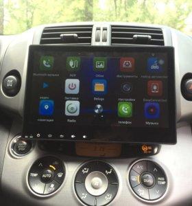 Автомагнитола штатная Toyota RAV4 Android.
