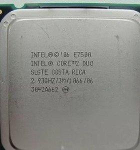 Intel e7500 core2 duo