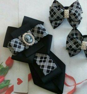 Наборы галстук +резинки