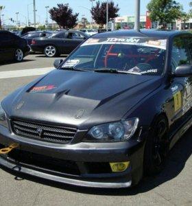 Отличный капот на Toyota Altezza / Lexus IS2