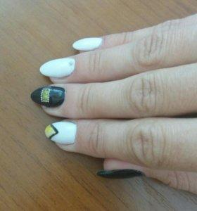 Дизайн и наращивание ногтей