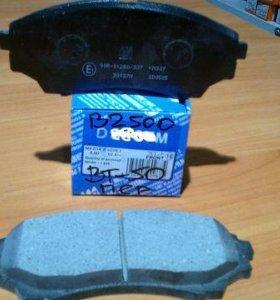 тормозные колодки передние мазда bt50