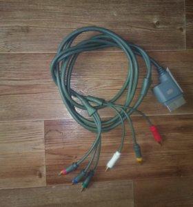 Видео кабель Xbox 360