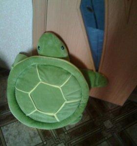 Игрушка черепаха,подушка