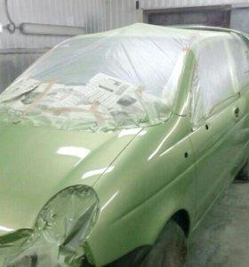 Покраска любой сложности ремонт пластика