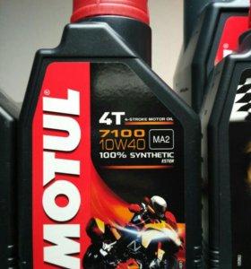Масло для мотоцикла Motul 7100 4T 10W-40, 1 литр