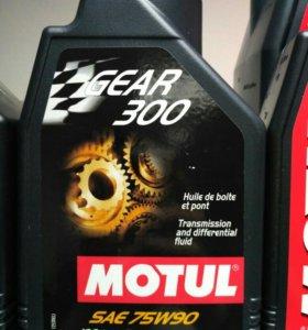 Масло трансмиссионное Motul Gear 300 75W90, 1 литр