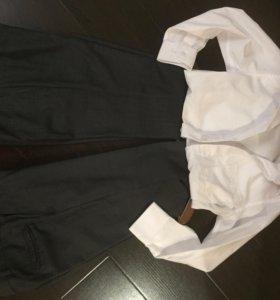 Брюки и рубашка школа размер 128-134