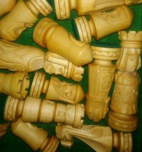 Деревяные шахматы