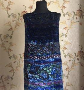Платье из итальянского панбархата