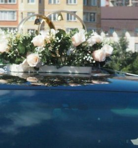 Кольца для свадебного авто