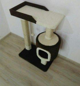 Домик для кошек, когтеточка