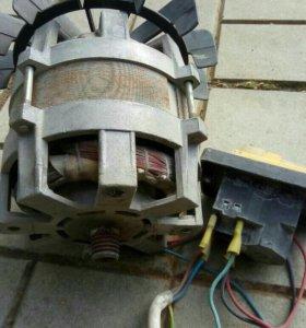 Двигатель от бетономешалки на 380 v