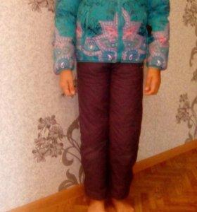 Горнолыжный костюм 7-9 лет на девочку