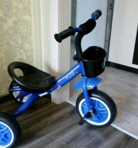 Велосипед новый Мультяшка