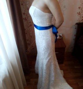 """Свадебное платье силуэта """"русалка"""""""