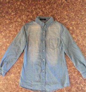 Рубашка под джинсу