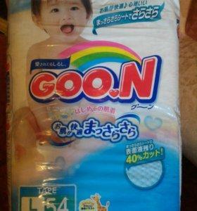 Подгузники Goon размер L