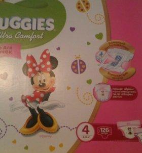 Подгузники Huggies 4
