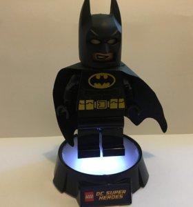 Фонарик Лего Бэтмен с подставкой БУ
