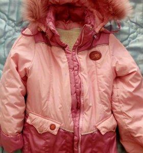 Костюм ф.Oldos (зима-осень) на девочку 4-6 лет.