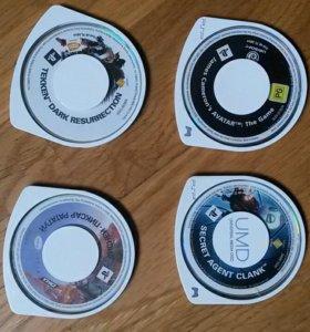 Игры (диски) на PSP