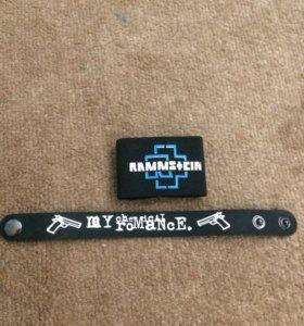 Продаю браслеты Rammstein, MCR