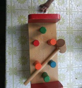 Деревянная игрушка «Гвоздики»