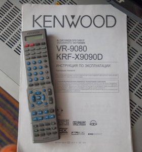 Audio-video control center KFK-X9090D + 2 колонки