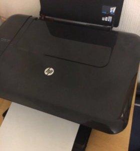 Принтер МФУ HP Deskjet 3050 J610а +краска цветная