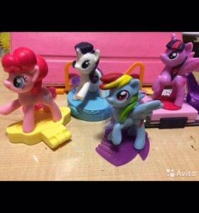 My little pony набором