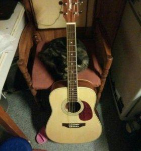 электроаккустика гитара augusto gringo 3se