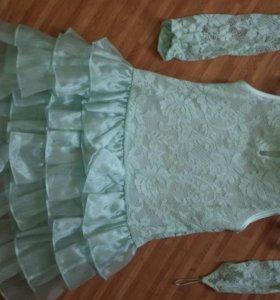 Платье короткое нарядное